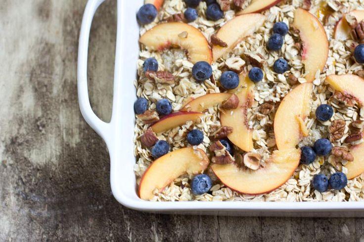 Baked Breakfast Quinoa (great idea for leftover quinoa from Vintage Mixer)