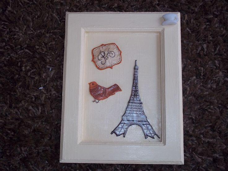 París. Decoupage en relieve.