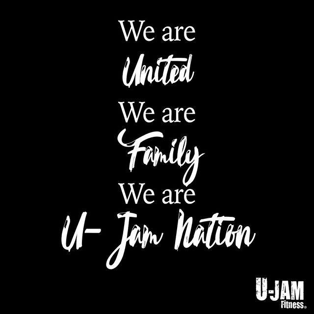 We Are U Jam Nation Motivationmonday Ujamfitness