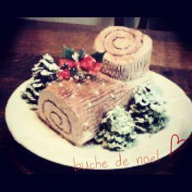 「もっちりふわふわスフレのブッシュドノエル」shizu | お菓子・パンのレシピや作り方【corecle*コレクル】