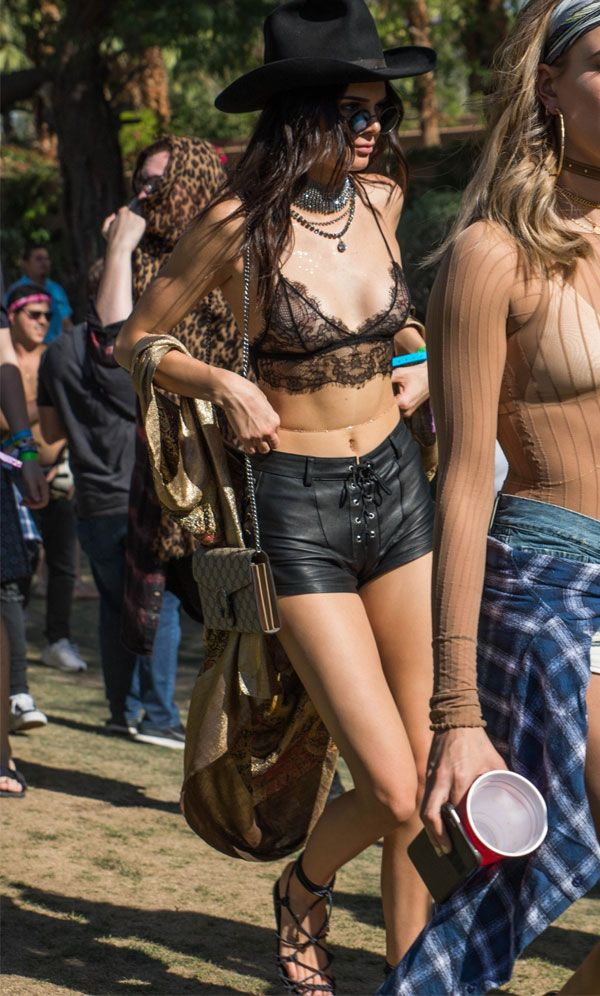 kendall jenner look lace top coachella 2016