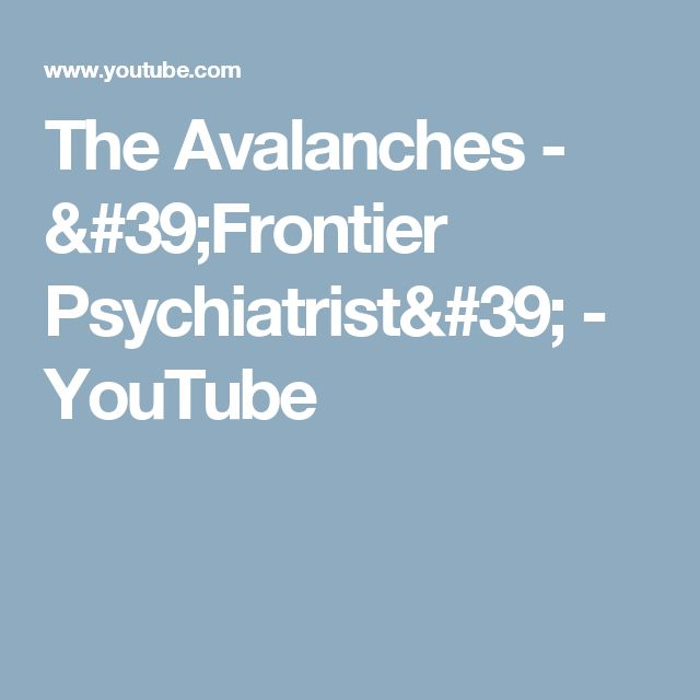 The Avalanches -  'Frontier Psychiatrist' - YouTube