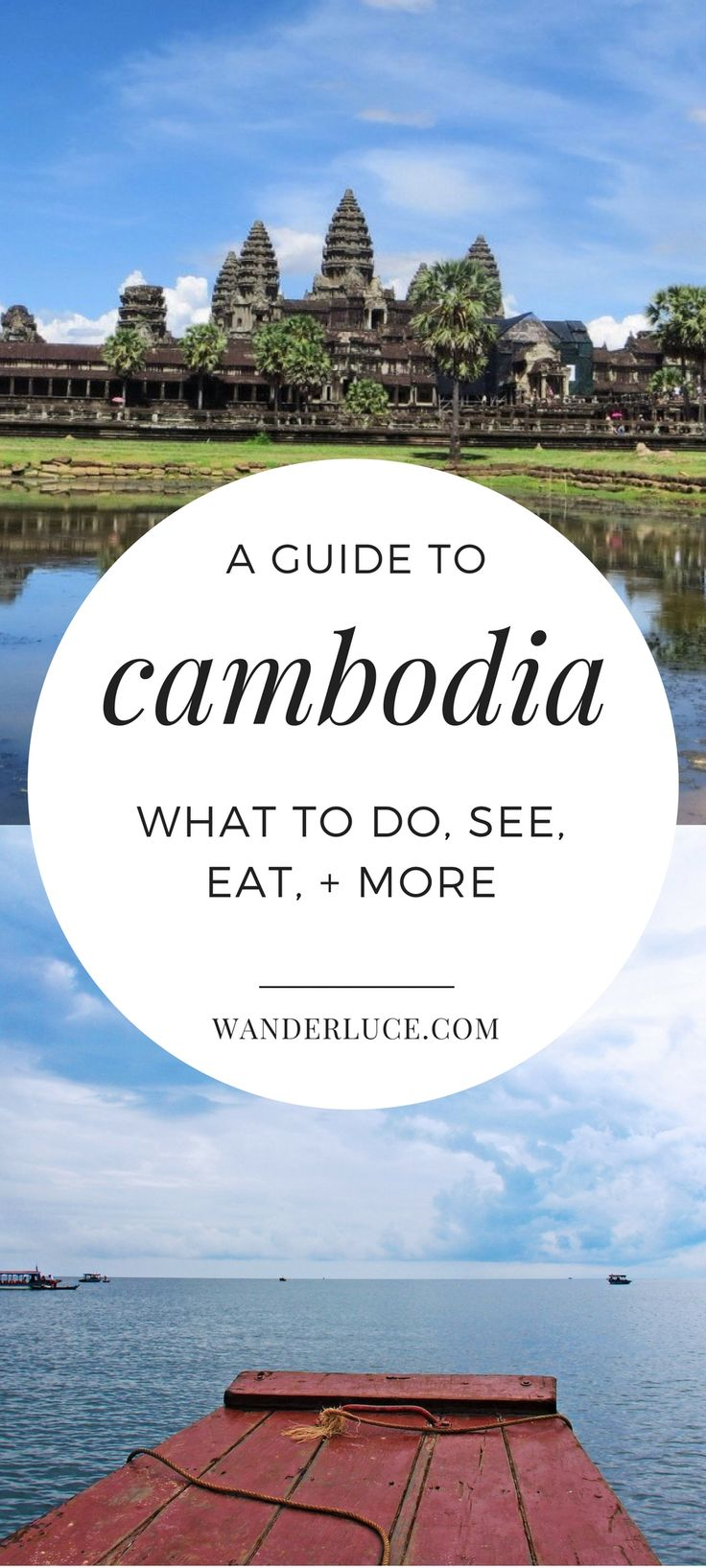 A guide to the wonderfully diverse, heartbreaking country that is Cambodia. If you don't read this and book a flight immediately, we'll book it for you.