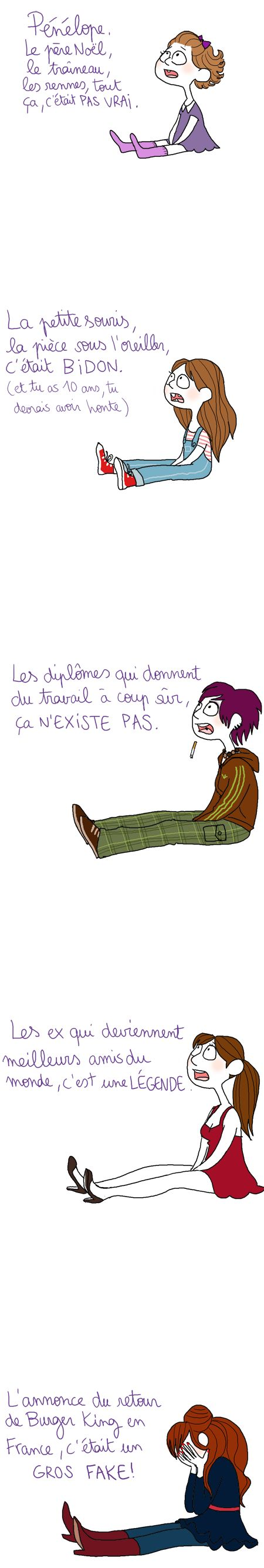 La vie n'est qu'illusions... / Get over it !
