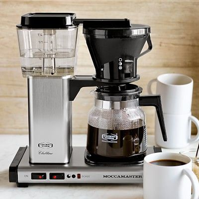 aa8f2b00c76a6eef20d12ee6c7e15e54  coffee brewers test kitchen Moccamaster Coffee Maker Technivorm Glass Coffee Maker Copper Williams Sonoma