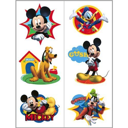 99 best images about toys games temporary tattoos on for Disney temporary tattoos mickey mouse