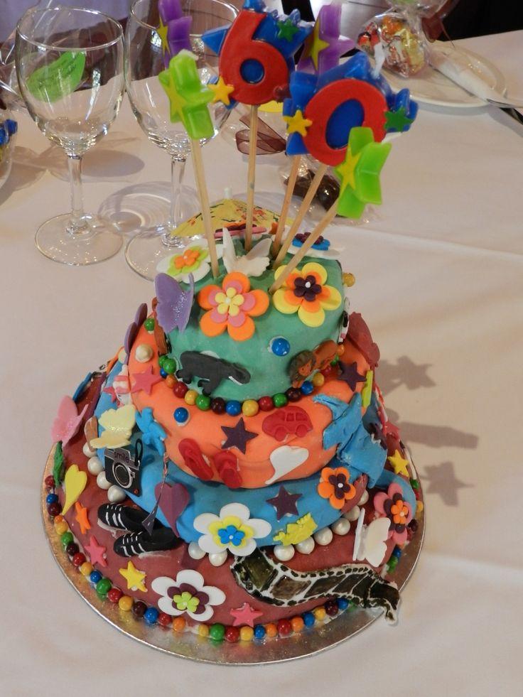 Topsy Turvy cake take 1