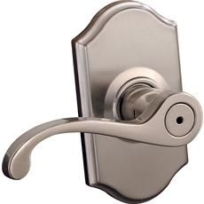 Commonwealth Privacy Lever - Satin Nickel Finish