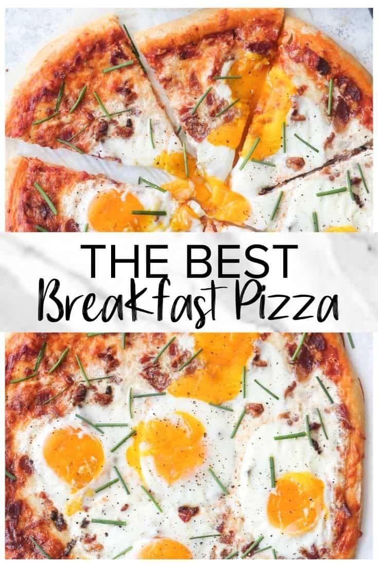 Best Breakfast Pizza Easy Chicken Recipes Recipe In 2020 Recipes Pizza Dinner Breakfast Pizza