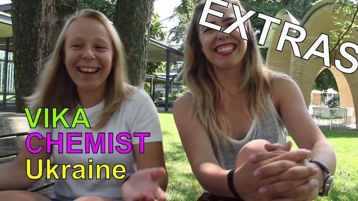 EXTRAS // Vika the CHEMIST from Ukraine