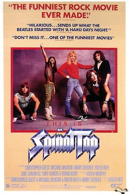 This movie goes to 11. It's where my great admiration of Christopher Guest began, and also learned that Michael McKean was so much more than Lenny from Laverne and Shirley. Brilliant comedy, top notch music, with the greatest lyrics ever written.