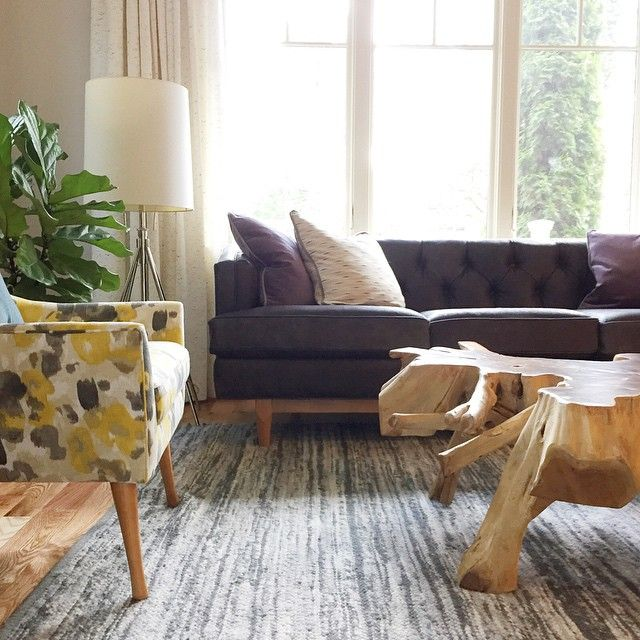 Our Chester 3 Seat Sofa In Emily Hendersonu0027s Sunny LA Home. Patterned ChairLiving  SpacesLiving ...