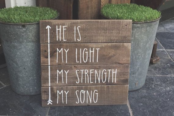In Christ Alone sign by OLIVEnGREY on Etsy