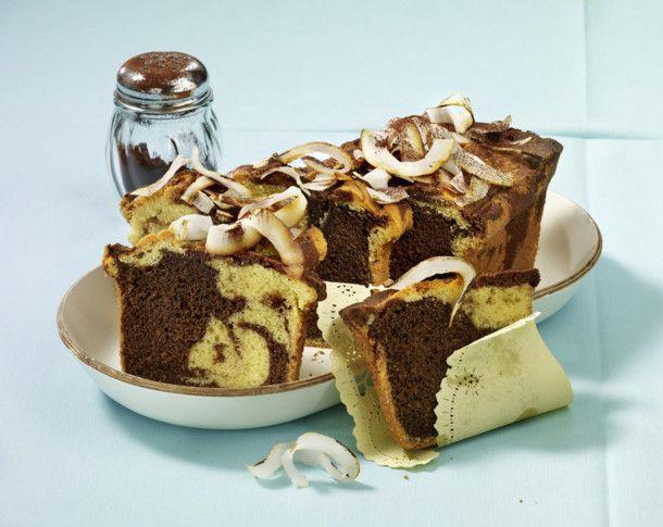 Nutella-Rührkuchen mit Kokosmilch