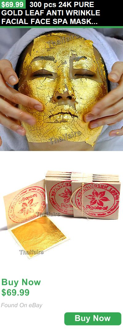 Skin Care 78123: 300 Pcs 24K Pure Gold Leaf Anti Wrinkle Facial Face Spa Mask Wholesale Price BUY IT NOW ONLY: $69.99
