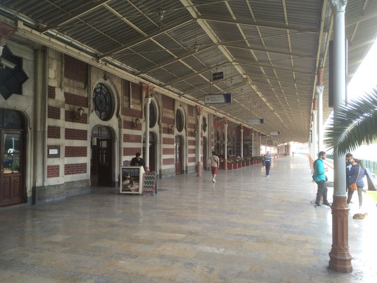 The station from where the Orient Express left and arrived. Istanbul Turkey