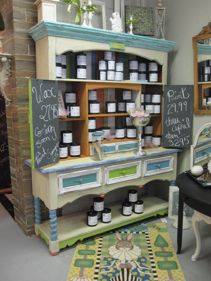 Cece Caldwells Chalk And Clay Paints Display Tampa