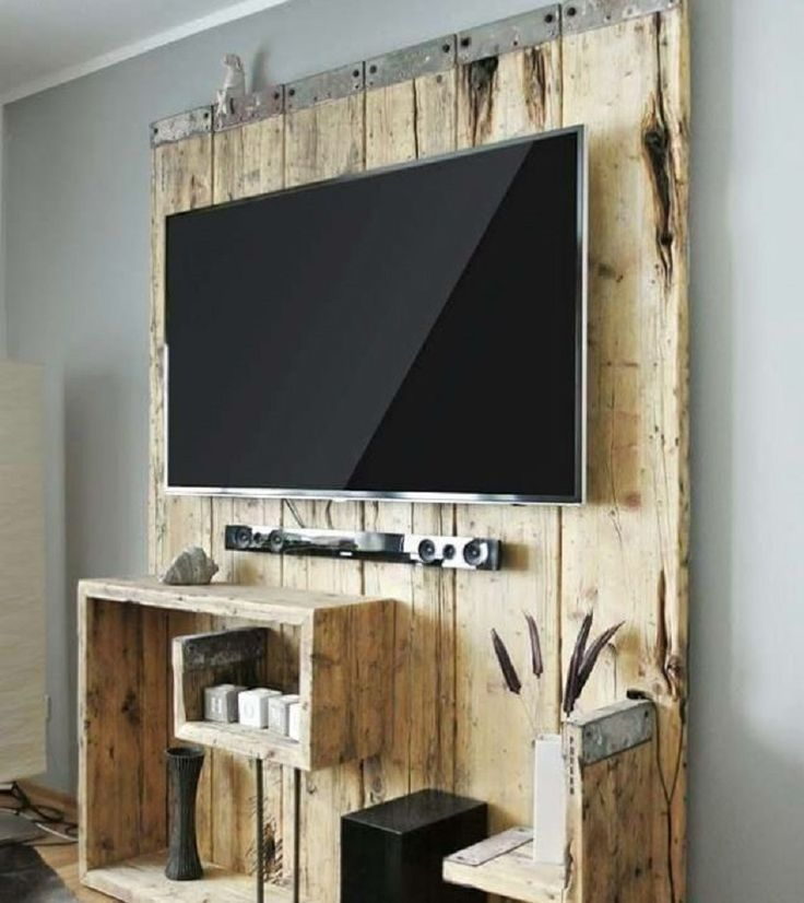 1000 id es sur le th me meuble tv palette sur pinterest consoles tv meuble tv bois et console. Black Bedroom Furniture Sets. Home Design Ideas
