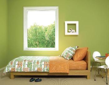 Habitaciones juveniles en tonos verdes   Dormitorio - Decora Ilumina