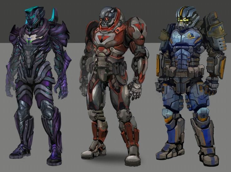 Planetside 2 heavy armor.
