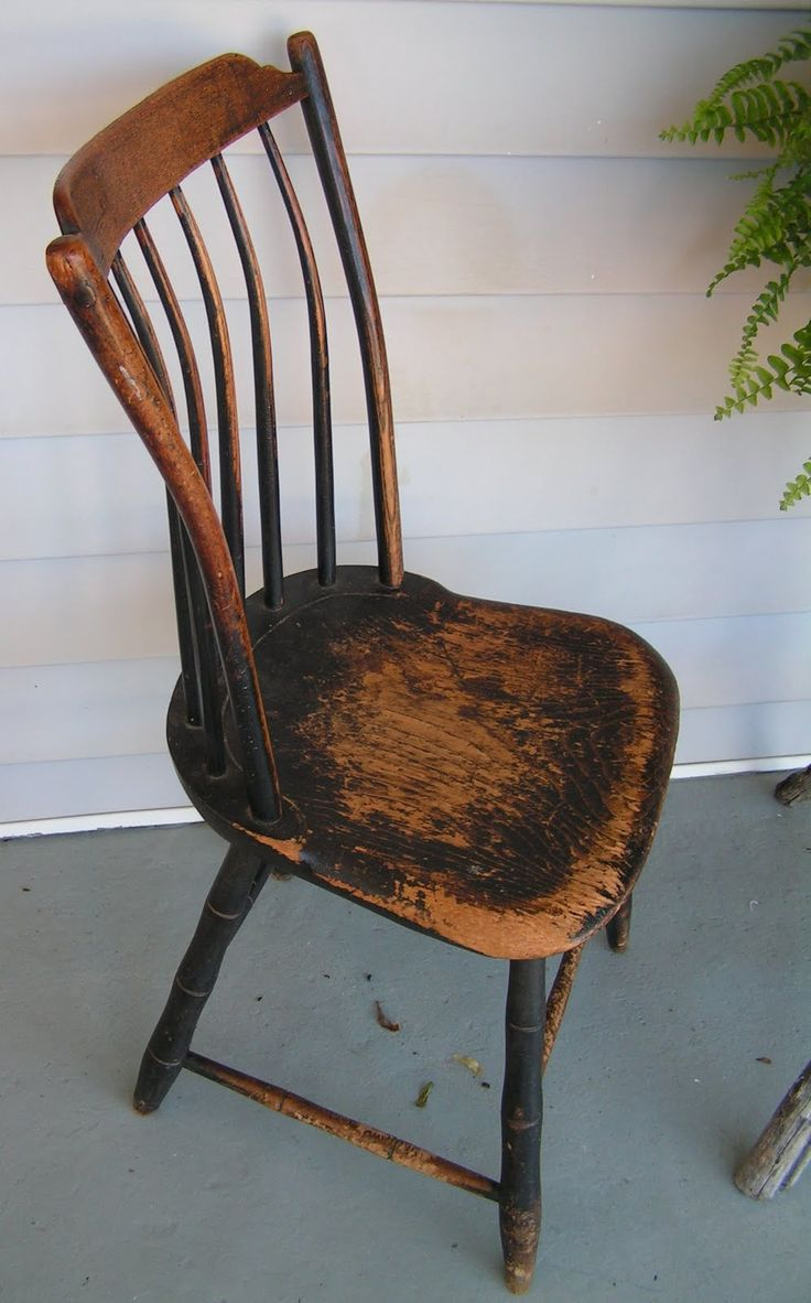 Antique Wooden Chairs ~ Antique windsor chair value furniture