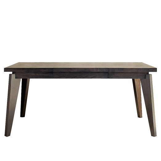 West Elm Angled Leg Expandable Table With Drop Leaf 649