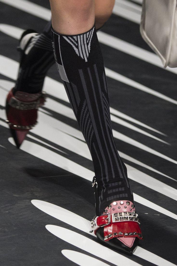Prada at Milan Fashion Week Spring 2018 - Milan's Epically Awesome Runway Shoes for Spring - Photos