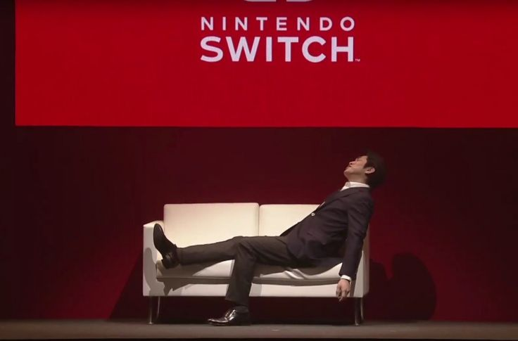 The first Nintendo Switch dies in the wild, blue screen of death style