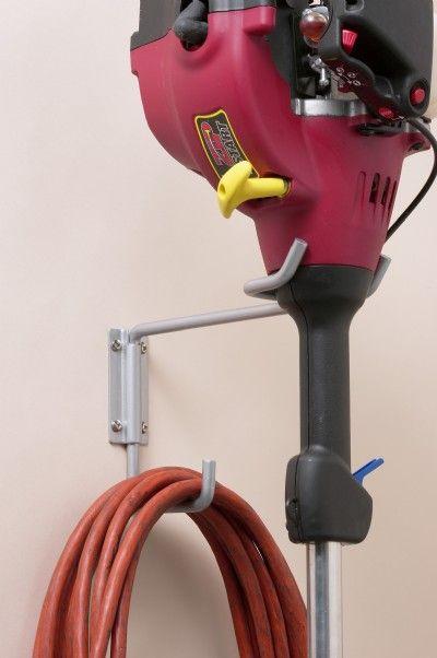 Storage - General Hooks & Hangers - Garden Power Tool Hanger