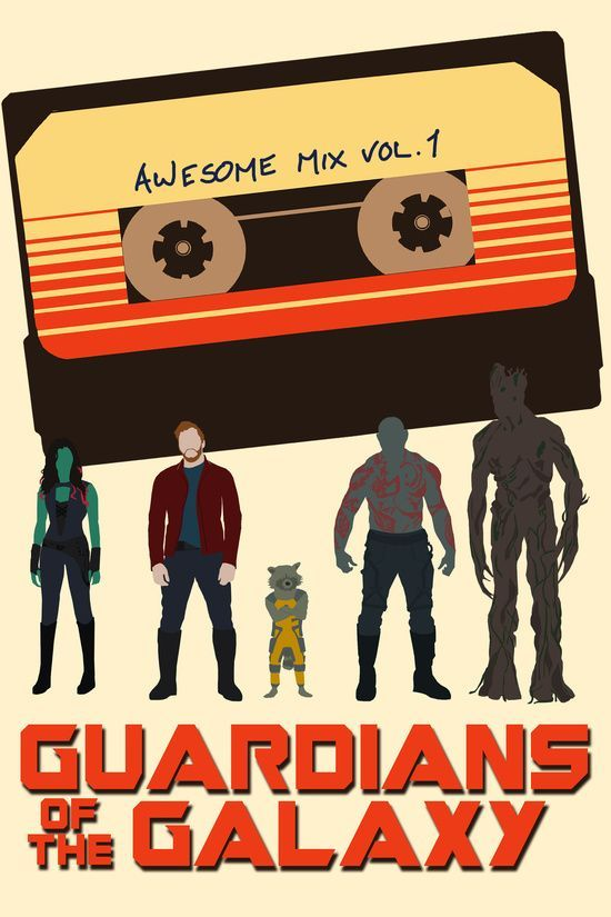 Fan poster of 'Guardians Of The Galaxy'