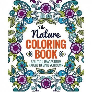 The Nature Coloring Book - Thunder Bay Press #coloringbook