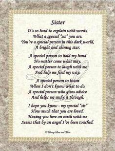 happy birthday sister poems 7