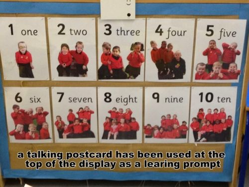 counting display using children for maximum engagement #abcdoes…