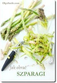 Jak obrać szparagi