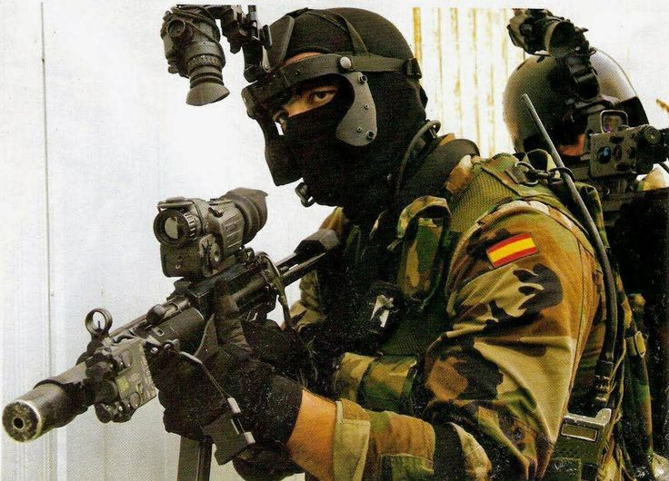 Spanish U.O.E., Navy Special Operations Unit.