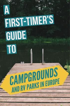 A First-Timer's Guide To Campgrounds in Europe | Camping In Europe | Europe Travel Tips | Follow Me Away Travel Blog