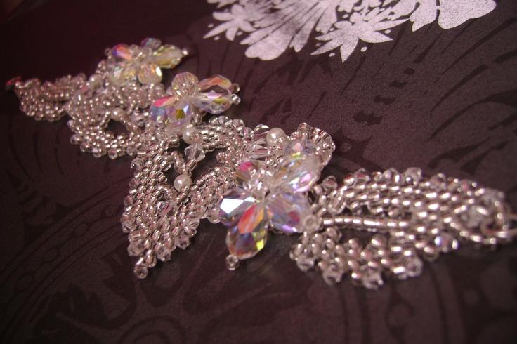 Sneak Peak of TiffyDesigns wedding collection. www.tiffydesigns.com #wedding #bridal #bracelet #Swarovski #crystal #jewelry