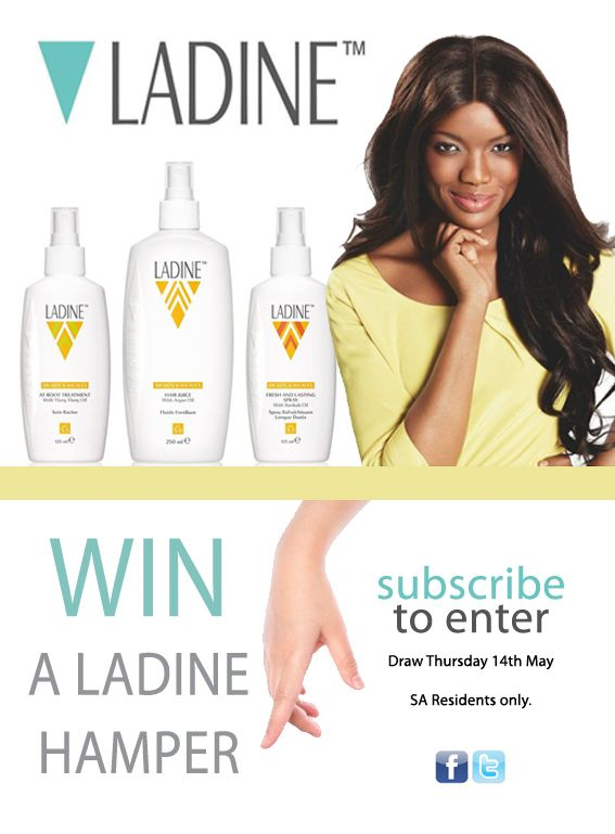 COMPETITION CLOSED> WIN a LADINE hamper. Designed for healthy dreads, weaves and braids. Competition draw 14th May. SA Residents only.