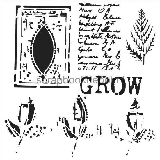 Mini 6x6 Template Grow Page