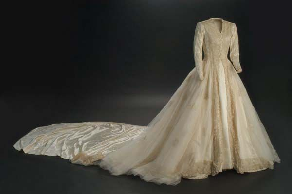First Wedding Gown Of Doña María Del Rosario Cayetana Fitz