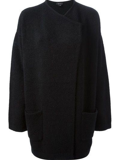 THEORY Oversized Cardi-Coat