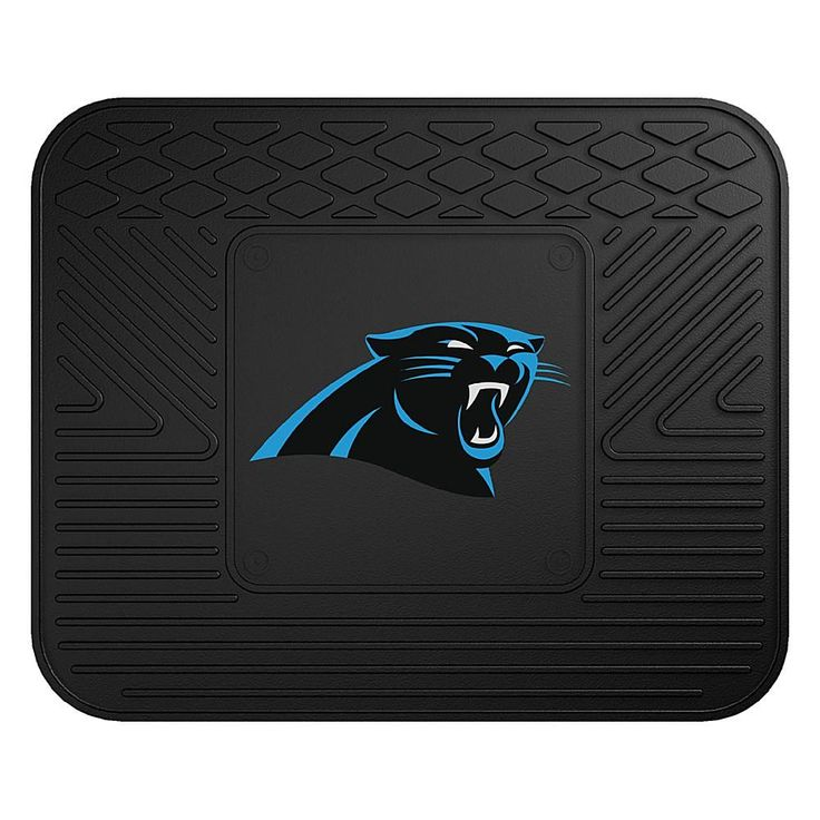 "Officially Licensed NFL Team Logo 14"" x 17"" Mat by Sports Licensing Solutions - Cowboys - Panthers"
