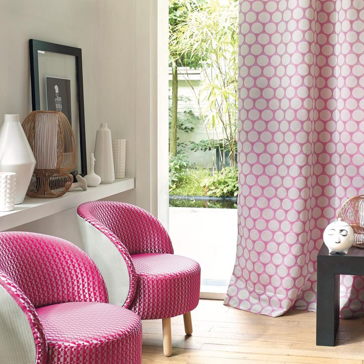 Casadeco curtain fabric. Book a home consultation to choose the fabric for your made to measure curtains from Norwich Sunblinds.