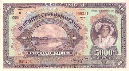 5000 Kč 1920