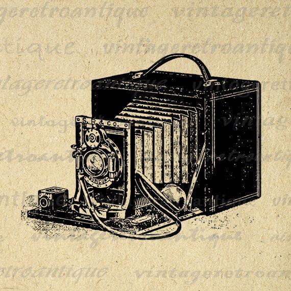 Digital Image Antique Camera Download Old Fashioned Printable