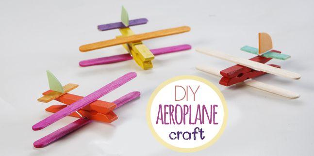 DIY Aeroplane Craft