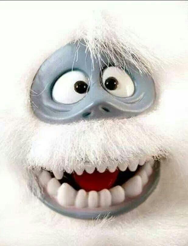 Yeti Snowman Cake