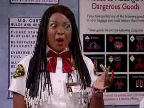 Mad Tv - Ka-son at the Airport.- My ultimate favorite one!!! Lololing for Days!!! #illBeTheJudgeOfThat #ThisItemIsProhibited