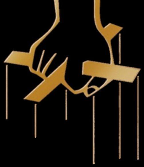 The godfather hand logo wallpaper