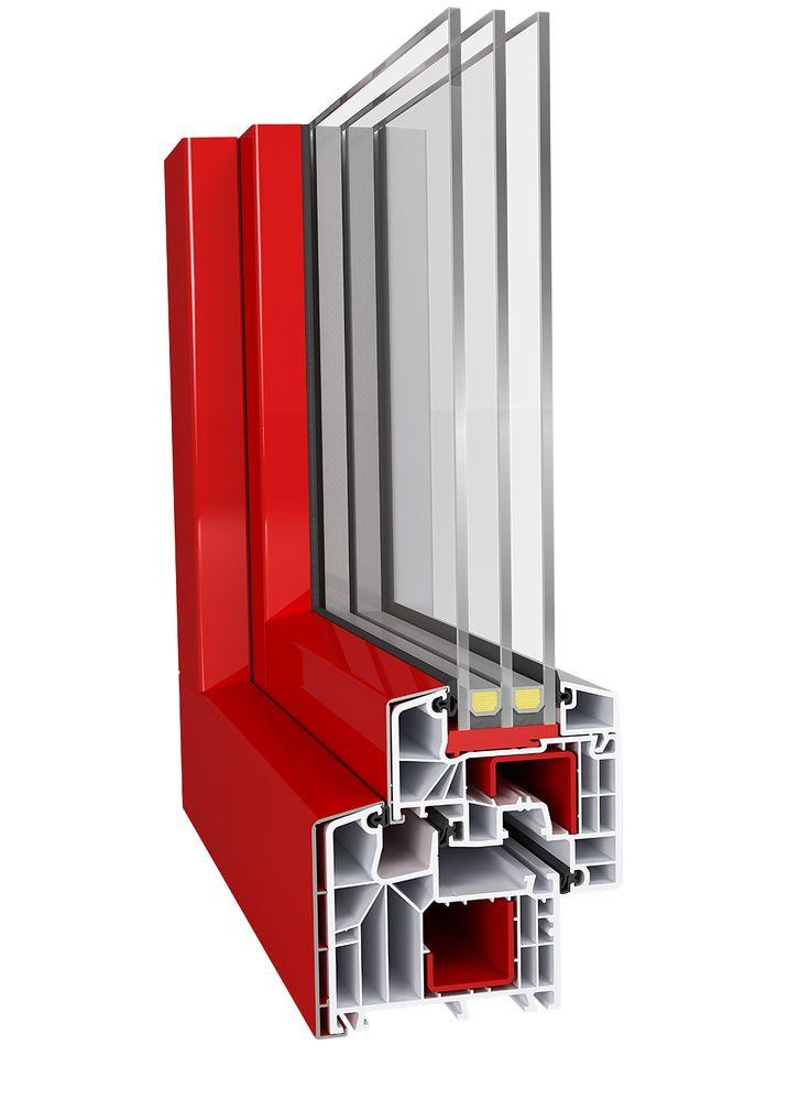 Kunststofffenster aluplast IDEAL 8000 CLASSIC LINE + ALUSKIN CLASSIC